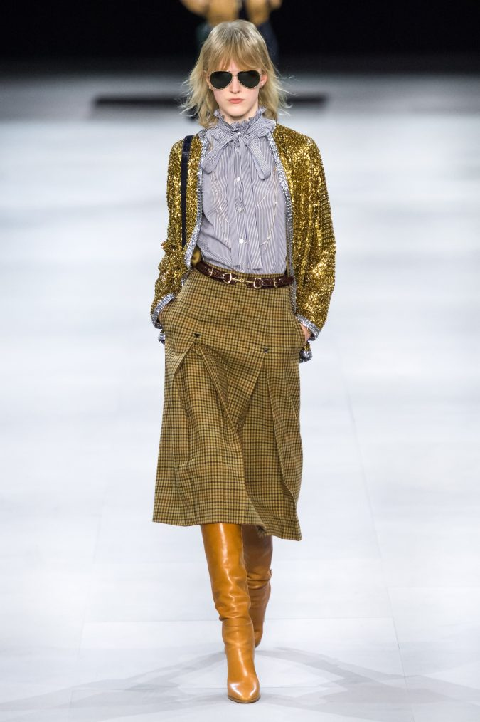 fall-winter-fashion-2020-A-shape-skirt-celine-675x1014 90 Fall/Winter Fashion Ideas for a Perfect Combination of Vintage and Modern in 2020