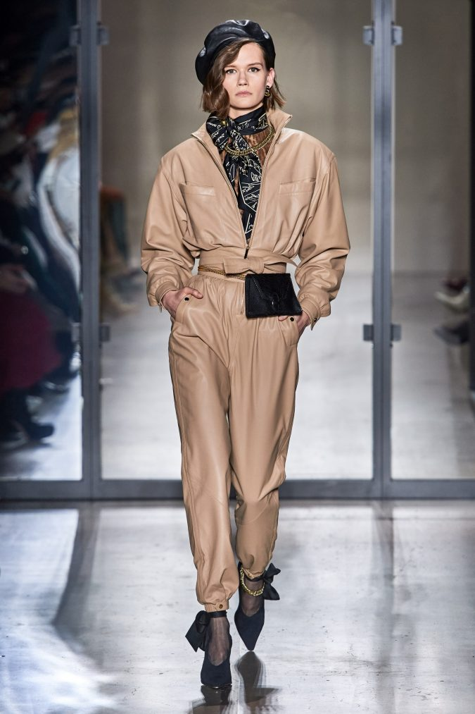 fall-winter-fashion-2020-beige-leather-jumpsuit-Zimmermann-675x1013 90 Fall/Winter Fashion Ideas for a Perfect Combination of Vintage and Modern in 2020