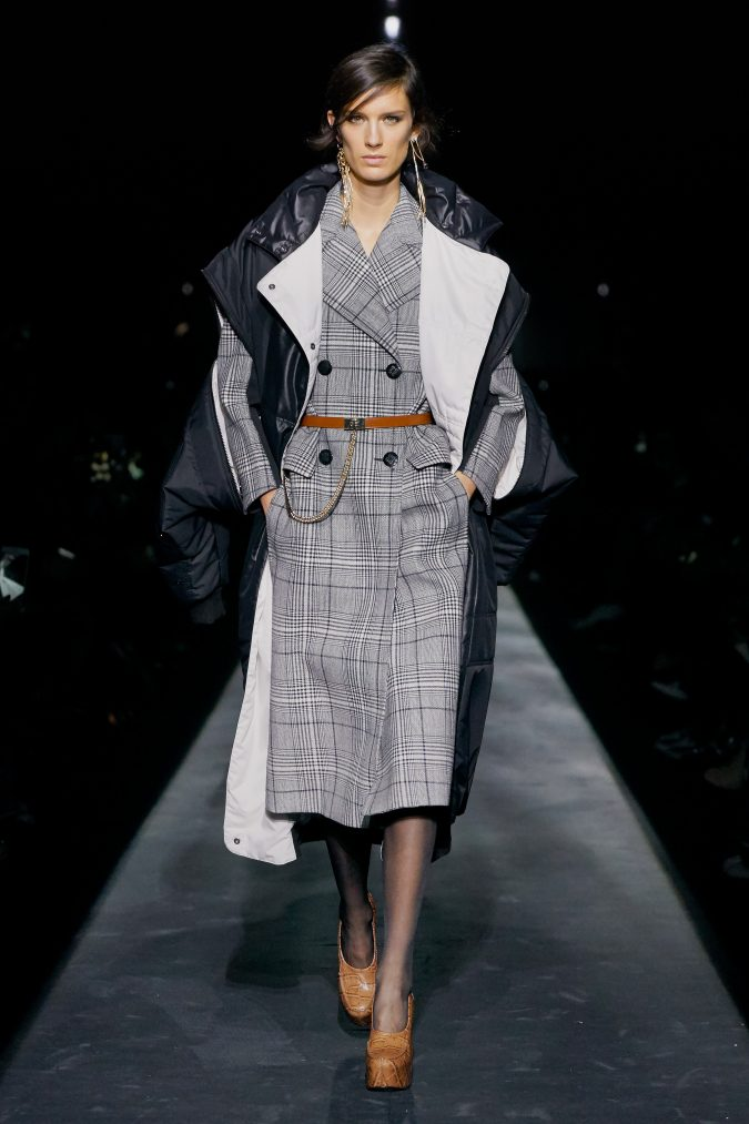 fall-winter-fashion-2020-checked-coat-puffer-coat-Givenchy-675x1013 +20 Fall Fashion Trends of 2020 for the Fans of Unusual Shoulders and Sleeves