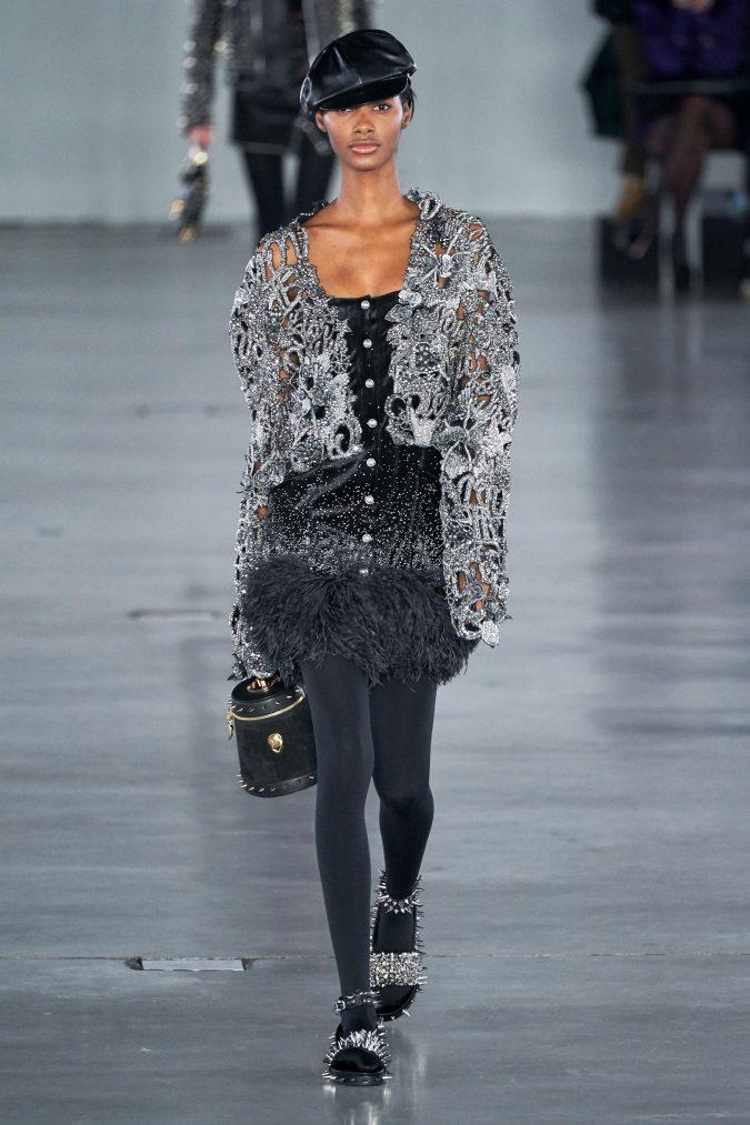 fall-winter-fashion-2020-disco-dress-Balmain-675x1013 +80 Fall/Winter Fashion Trends for a Stunning 2021 Wardrobe