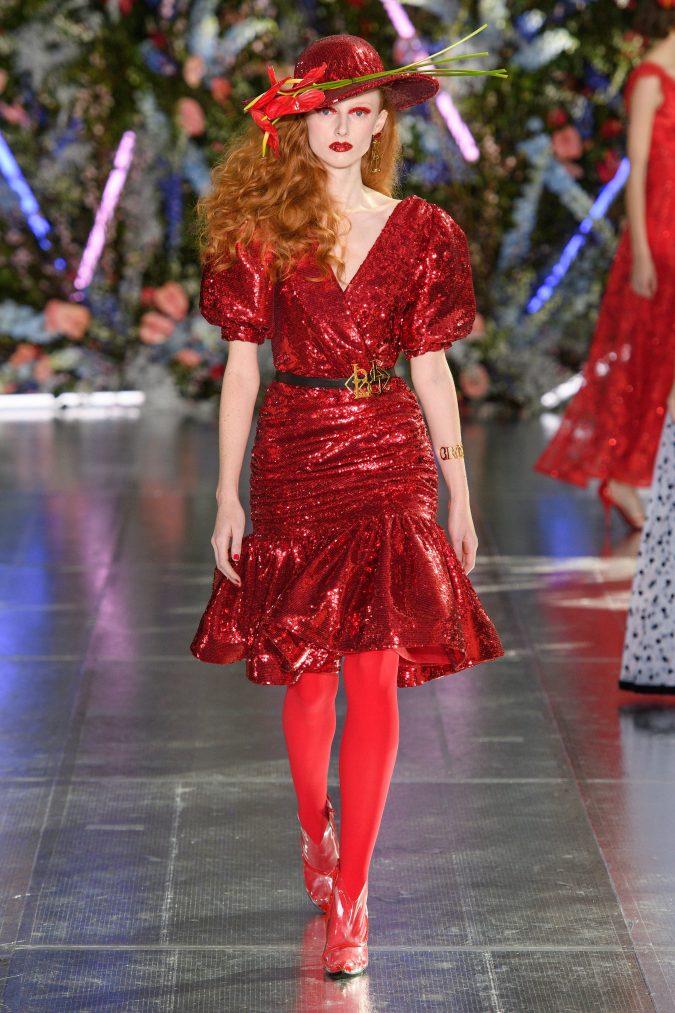 fall-winter-fashion-2020-disco-dress-Rodarte-675x1013 +80 Fall/Winter Fashion Trends for a Stunning 2021 Wardrobe