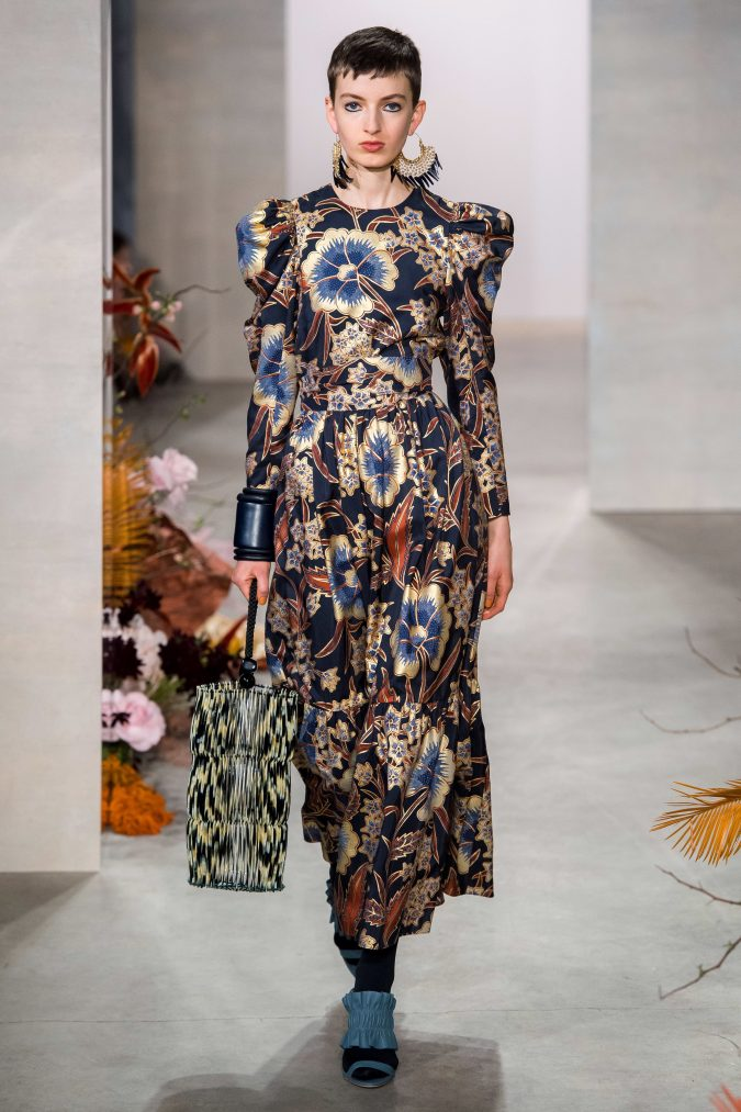fall-winter-fashion-2020-dress-with-leg-of-mutton-sleves-Ulla-Johnson-675x1013 90 Fall/Winter Fashion Ideas for a Perfect Combination of Vintage and Modern in 2020