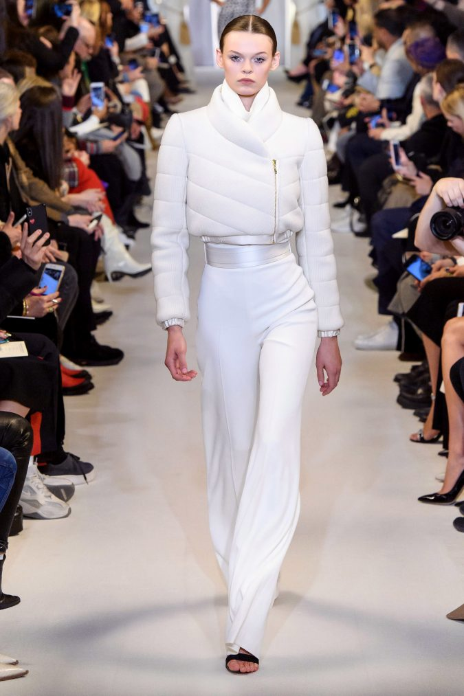 fall-winter-fashion-2020-jacket-Brandon-Maxwell-675x1013 +20 Fall Fashion Trends of 2020 for the Fans of Unusual Shoulders and Sleeves