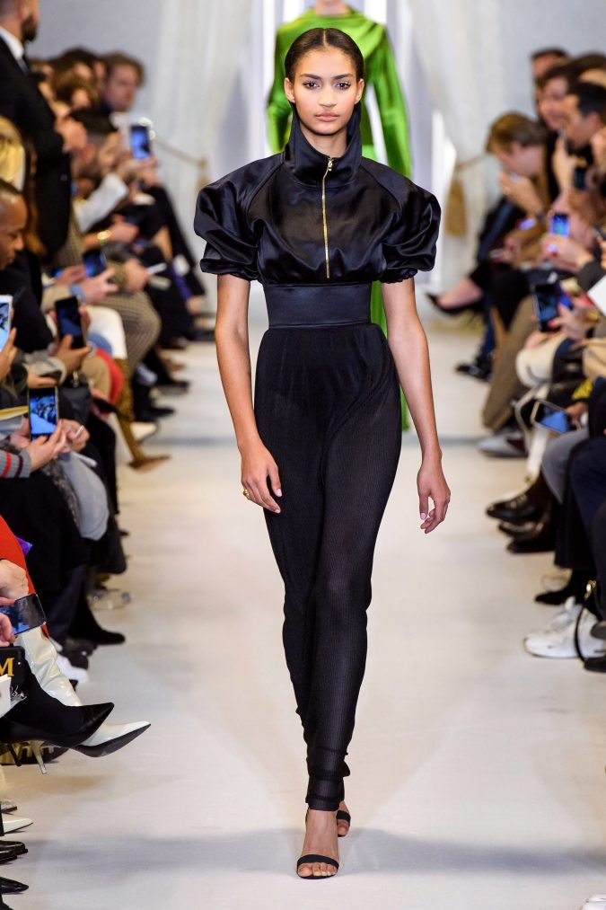 fall-winter-fashion-2020-jumpsuit-Brandon-Maxwell-2-675x1013 +20 Fall Fashion Trends of 2020 for the Fans of Unusual Shoulders and Sleeves