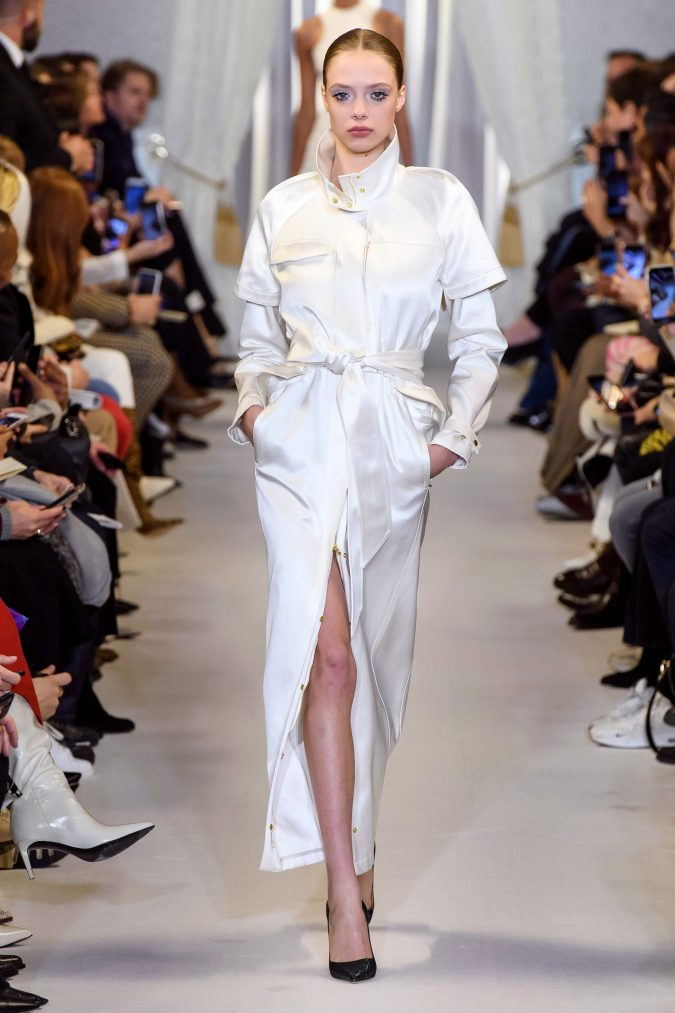 fall-winter-fashion-2020-jumpsuit-layered-sleeves-Brandon-Maxwell-675x1013 +20 Fall Fashion Trends of 2020 for the Fans of Unusual Shoulders and Sleeves