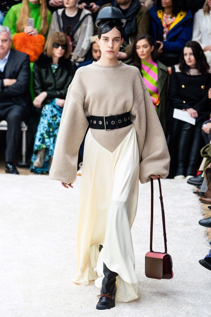 fall-winter-fashion-2020-knitwear-dress-J.W.-Anderson-675x1013 +80 Fall/Winter Fashion Trends for a Stunning 2021 Wardrobe