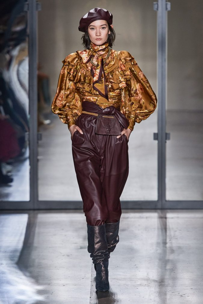 fall-winter-fashion-2020-leather-pants-Zimmermann-675x1013 90 Fall/Winter Fashion Ideas for a Perfect Combination of Vintage and Modern in 2020