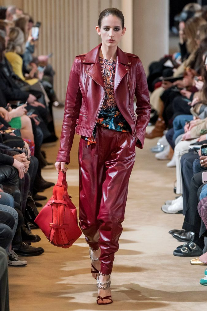 fall-winter-fashion-2020-leather-suit-Altuzarra-675x1013 120+ Lovely Floral Outfit Ideas and Trends for All Seasons 2020