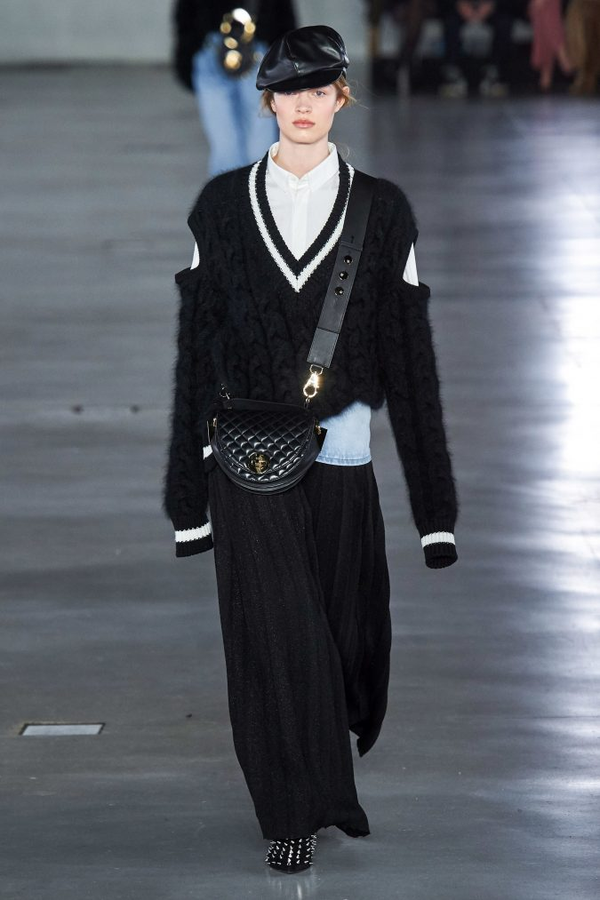 fall-winter-fashion-2020-pleated-pants-knitted-sweater-Balmain-675x1013 90 Fall/Winter Fashion Ideas for a Perfect Combination of Vintage and Modern in 2020