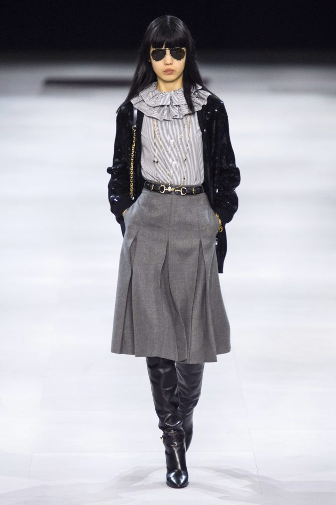 fall-winter-fashion-2020-ruffled-collar-celine-675x1014 Top 10 Fashionable Winter Fashion Outfit Ideas for Teens in 2020