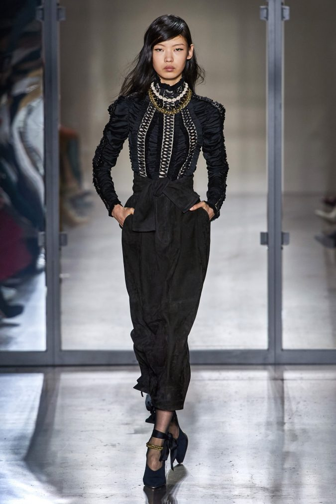 fall-winter-fashion-2020-ruffled-top-Zimmermann-675x1013 90 Fall/Winter Fashion Ideas for a Perfect Combination of Vintage and Modern in 2020