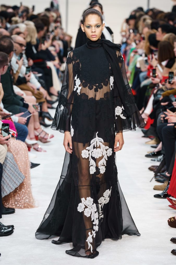 fall-winter-fashion-2020-see-through-dress-Valentino-675x1013 +80 Fall/Winter Fashion Trends for a Stunning 2020 Wardrobe