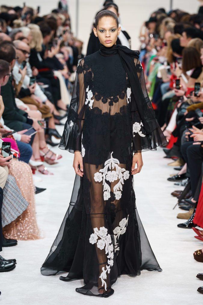 fall-winter-fashion-2020-see-through-dress-Valentino-675x1013 +80 Fall/Winter Fashion Trends for a Stunning 2021 Wardrobe