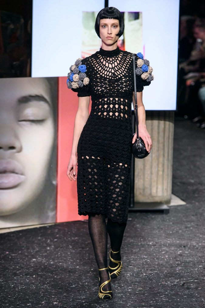 fall-winter-fashion-2020-see-through-knitted-dress-Miu-Miu-675x1013 Top 10 Fashionable Winter Fashion Outfit Ideas for Teens in 2020