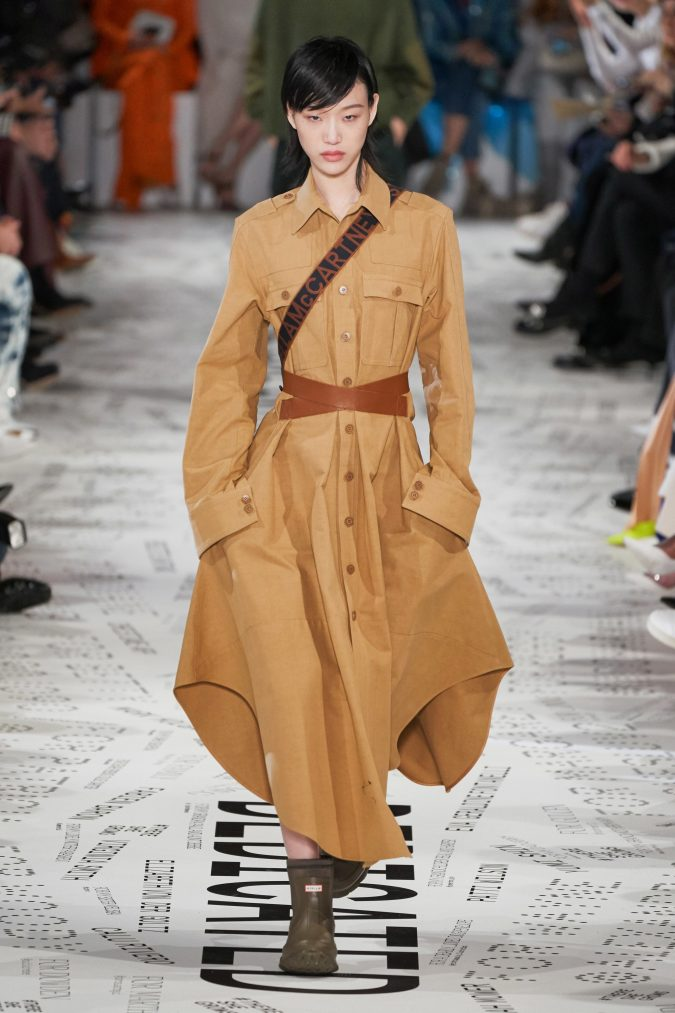 fall-winter-fashion-2020-shirt-dress-Stella-McCartney-675x1013 90 Fall/Winter Fashion Ideas for a Perfect Combination of Vintage and Modern in 2020