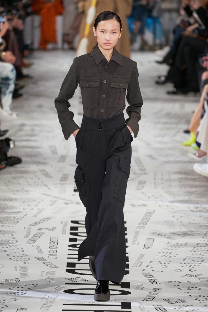 fall-winter-fashion-2020-shirt-wide-leg-bottom-Stella-McCartney-675x1013 +80 Fall/Winter Fashion Trends for a Stunning 2021 Wardrobe