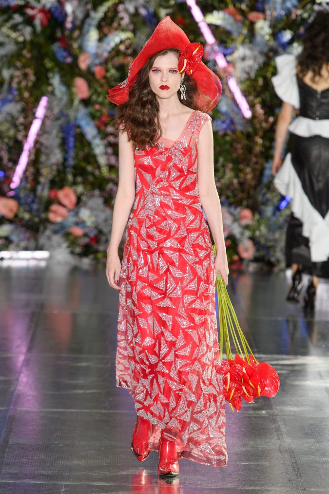 fall-winter-fashion-2020-sparkling-dress-Rodarte-675x1013 +80 Fall/Winter Fashion Trends for a Stunning 2020 Wardrobe