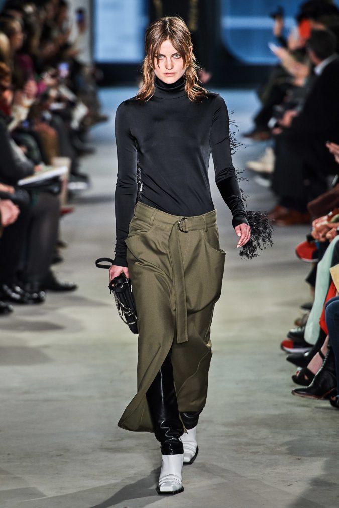 fall-winter-fashion-2020-turtleneck-skirt-Proenza-Schouler-675x1013 40+ Hottest Teenage Girls Fall/Winter Fashion Ideas in 2020