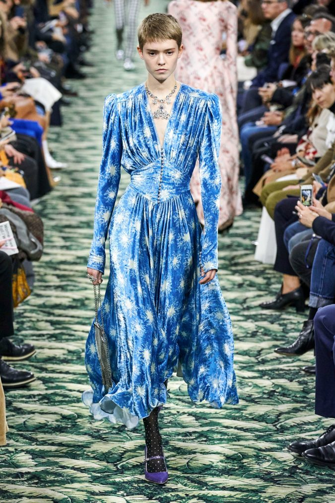 fall-winter-fashion-2020-velvet-dress-Paco-Rabanne-675x1013 Top 10 Winter Predictions and Trends for 2020