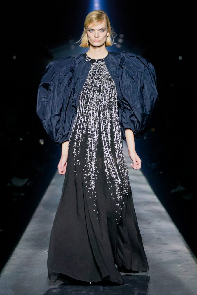 fall-winter-fashion-puffy-shoulders-dress-Givenchy-675x1013 +20 Fall Fashion Trends of 2020 for the Fans of Unusual Shoulders and Sleeves