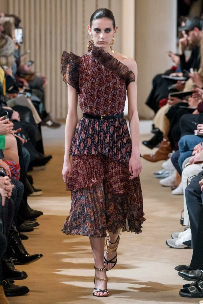 fall-winter-fashion-ruffled-pleated-dress-Altuzarra-675x1013 +80 Fall/Winter Fashion Trends for a Stunning 2021 Wardrobe