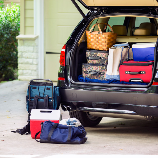 roadtrip-packing Top Tips on Surviving Your First Family Camping Trip