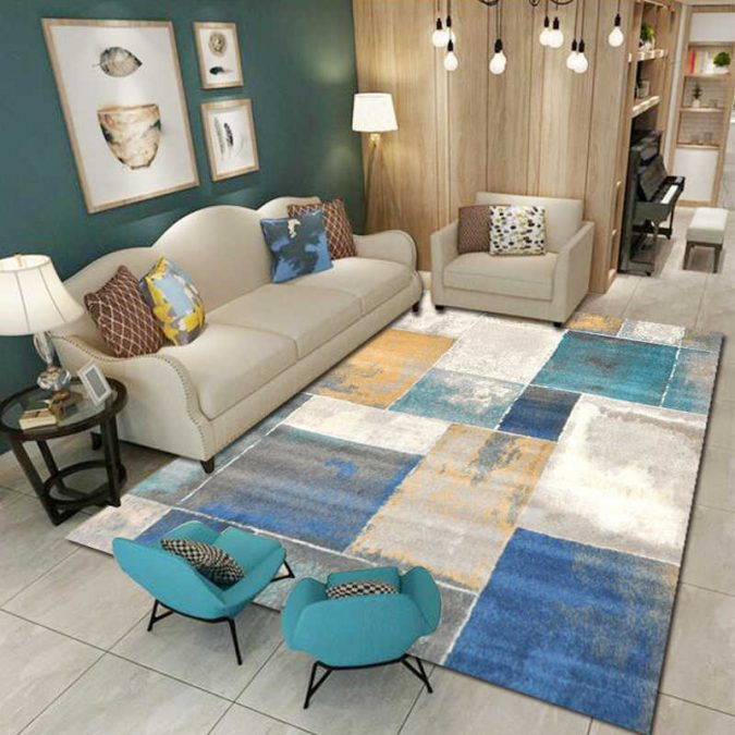 rug-in-living-room.-675x675 8 Tricks You Can Do Make Your Home Look Great