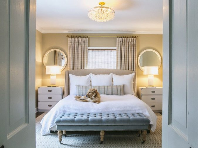sitting-in-bedroom-675x503 8 Tricks You Can Do Make Your Home Look Great