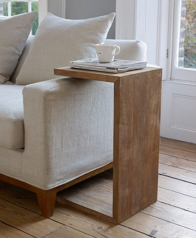 sofa-side-table-675x818 Using Wood to Decorate Your Home - Easy Tips and Tricks