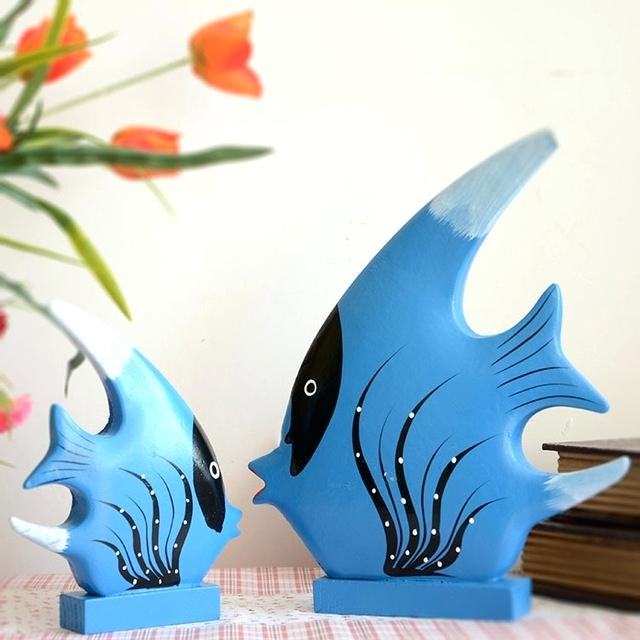 wooden-fish-decor Using Wood to Decorate Your Home - Easy Tips and Tricks