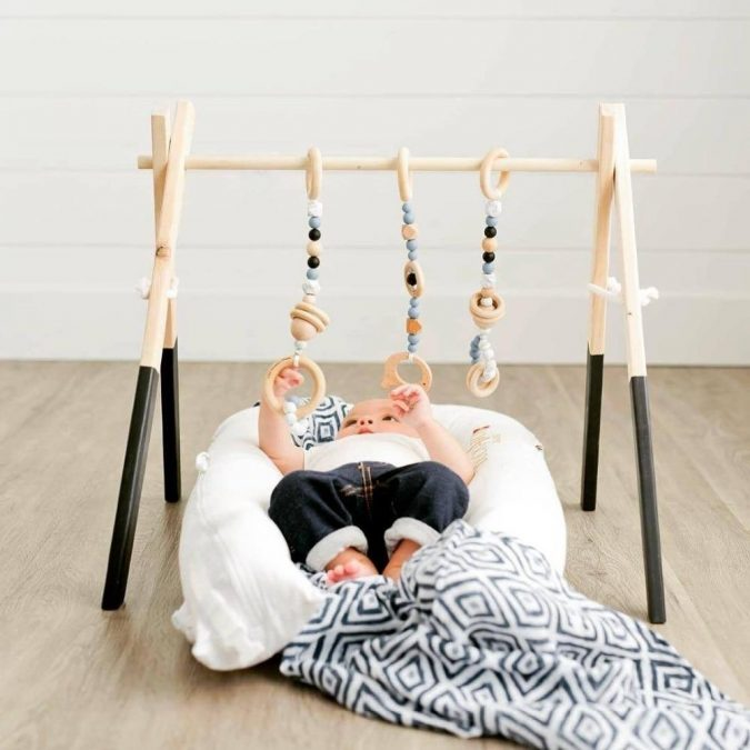 wooden-play-gym-675x675 Best 10 Christmas Gift Ideas for a New Born Baby