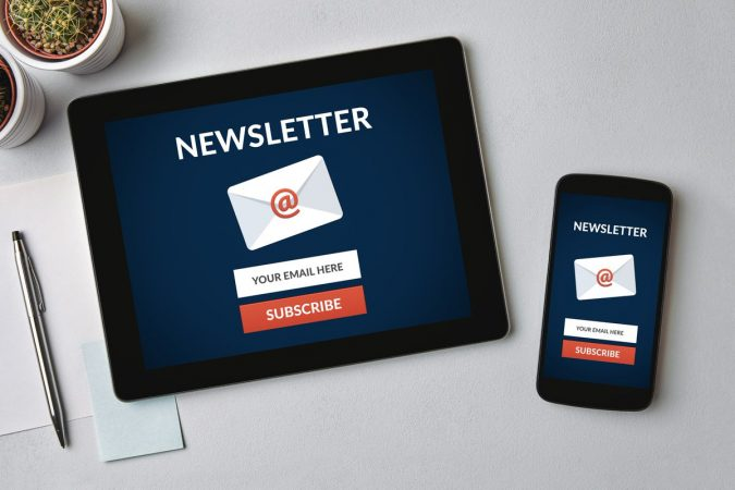 Email-Newsletters-675x450 Best 5 Ways for Business to Communicate with Customers
