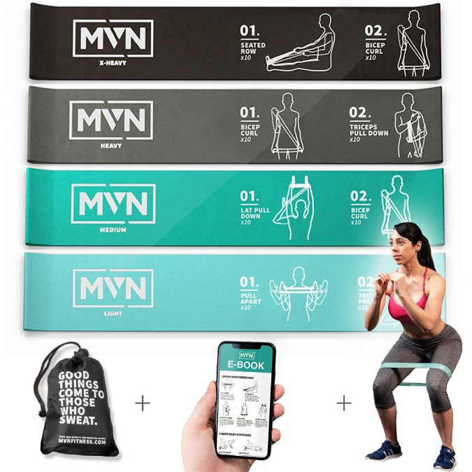 MVN-Resistance-Bands-675x675 Top 15 Best Home Gym Equipment to Get Fit