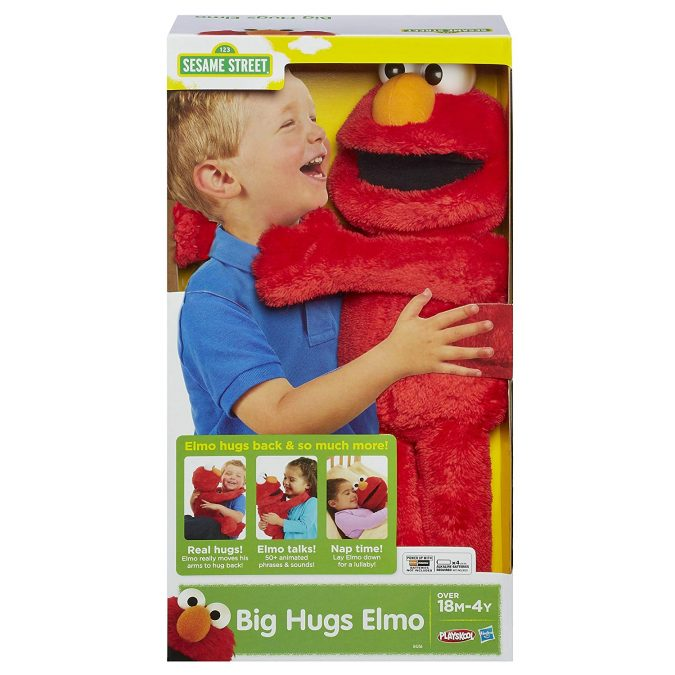 Sesame-Street-hug-Elmo.-675x675 Top 25 Most Trendy Christmas Toys for Children in 2020