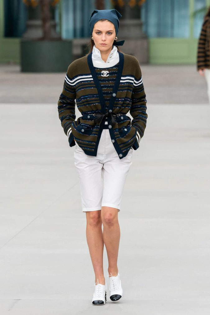 bermuda-shorts-Chanel-Resort-2020-Vogue-Runway-675x1013 40+ Hottest Teenage Girls Fall/Winter Fashion Ideas in 2020