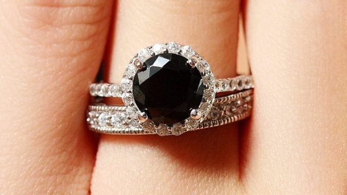 black-diamonds-wedding-ring-675x380 Everything You Need to Know about Wedding Rings