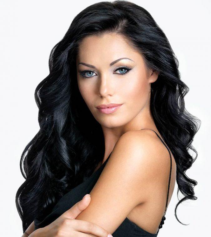 black-hair-2019-2-675x759 12 Hottest Fall/Winter Hair Color Ideas for Women 2020