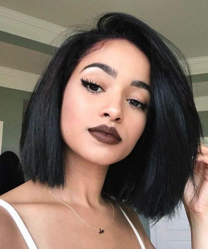 black-hair-2019-675x807 12 Hottest Fall/Winter Hair Color Ideas for Women 2020