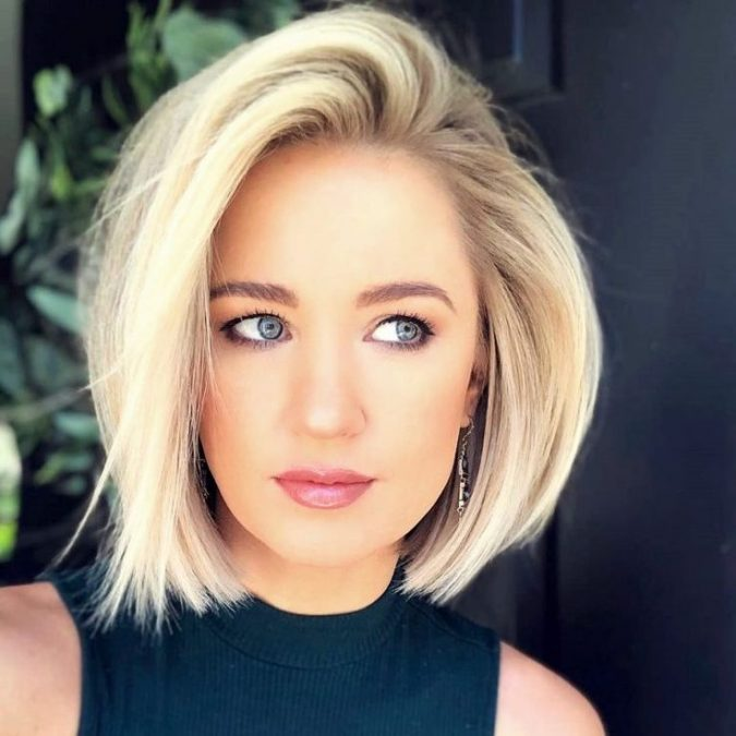 bob-side-part-hairstyle-675x675 20 Mind-blowing Fall / Winter Hairstyles for Women in 2020