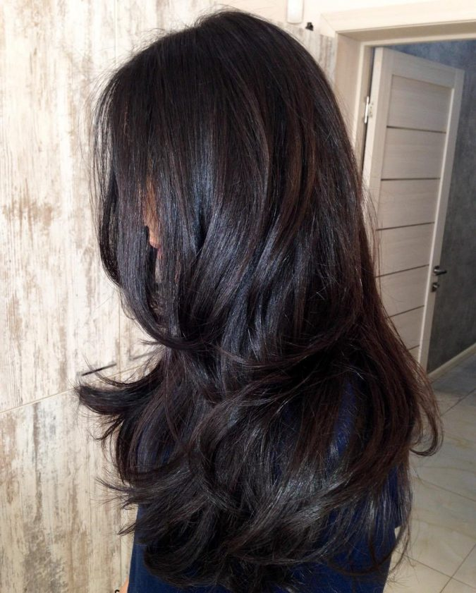 chocolate-brown-hair-2019-675x841 12 Hottest Fall/Winter Hair Color Ideas for Women 2020
