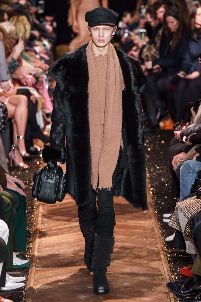 fall-fashion-2019-earthy-colored-scarf-Michael-Kors-675x1013 Top 10 Winter Predictions and Trends for 2020