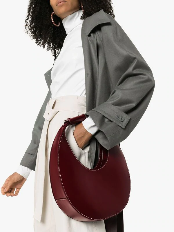 fall-winter-accessories-2020-Staud-moon-bag 65+ Hottest Fall and Winter Accessories Fashion Trends in 2020