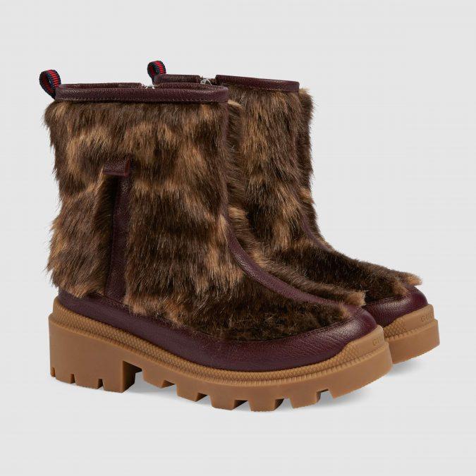fall-winter-fashion-2020-GG-faux-fur-boots-gucci-675x675 15 Cutest Kids Fashion Trends for Winter 2020