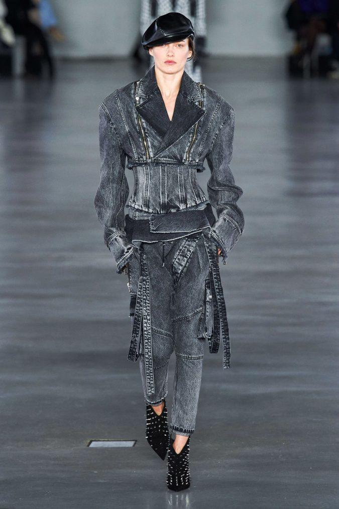 fall-winter-fashion-2020-all-denim-pants-jacket-Balmain-675x1013 40+ Hottest Teenage Girls Fall/Winter Fashion Ideas in 2020