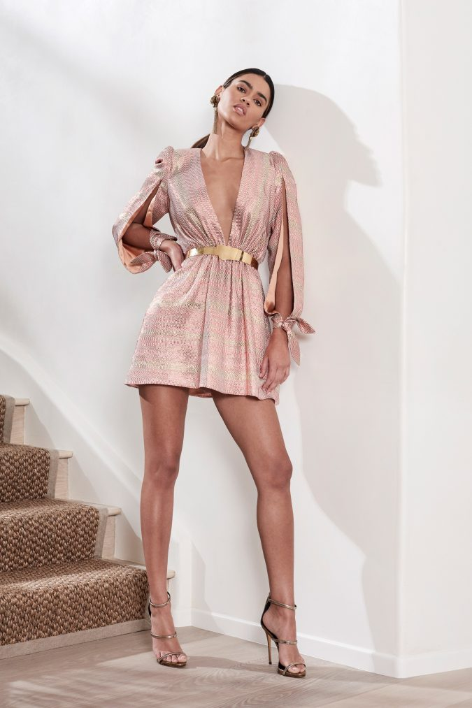 fall-winter-fashion-2020-belted-mini-dress-haney-new-york-pre-fall-675x1013 65+ Hottest Fall and Winter Accessories Fashion Trends in 2020