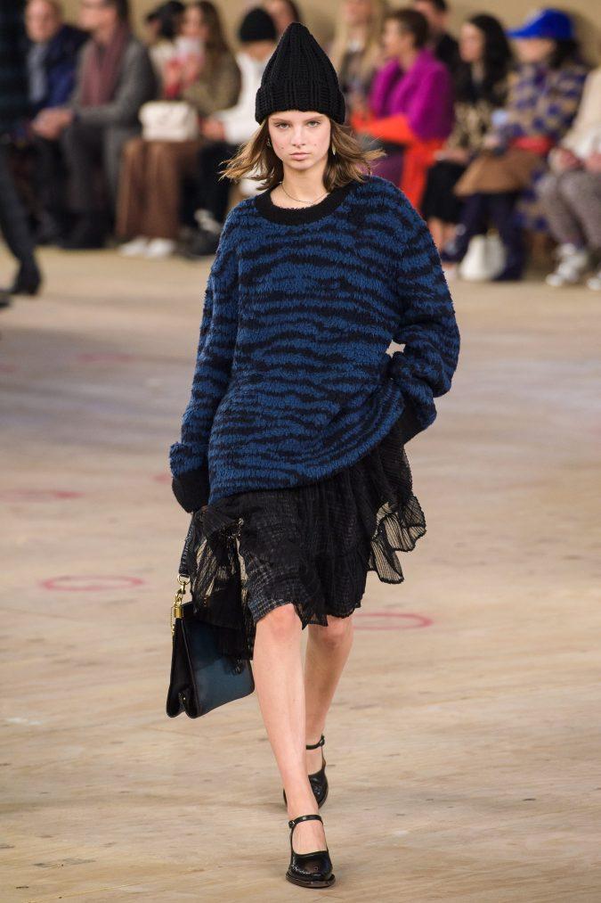 fall-winter-fashion-2020-boho-mini-dress-sweater-Coach-675x1013 40+ Hottest Teenage Girls Fall/Winter Fashion Ideas in 2020