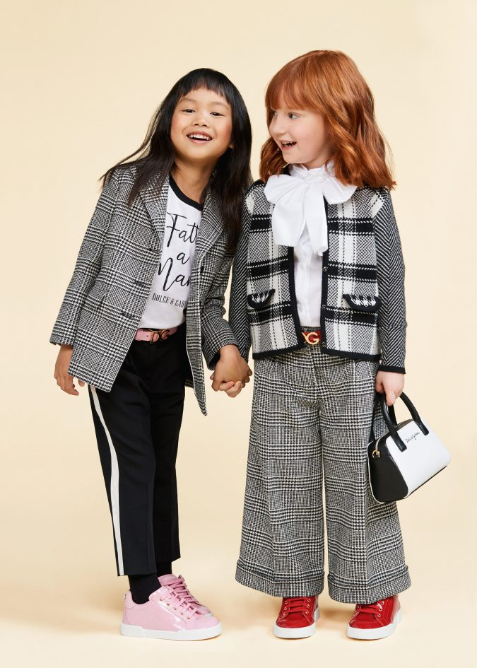 fall-winter-fashion-2020-checked-blazers-pants-dolce-and-gabbana-675x945 15 Cutest Kids Fashion Trends for Winter 2020