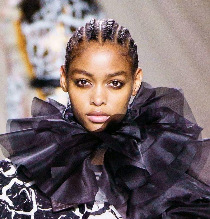 fall-winter-fashion-2020-dark-brown-black-brown-hair-Mary-Katrsntzou-675x704 12 Hottest Fall/Winter Hair Color Ideas for Women 2020