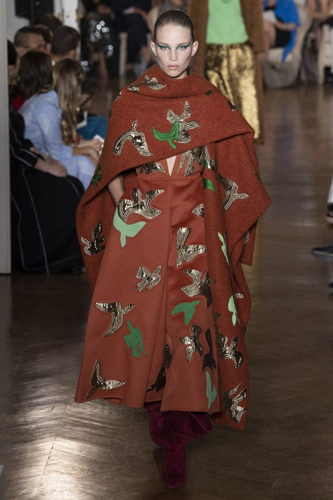 fall-winter-fashion-2020-dress-earthy-colors-velvet-boots-Jacquemus-675x1013 Top 10 Winter Predictions and Trends for 2020