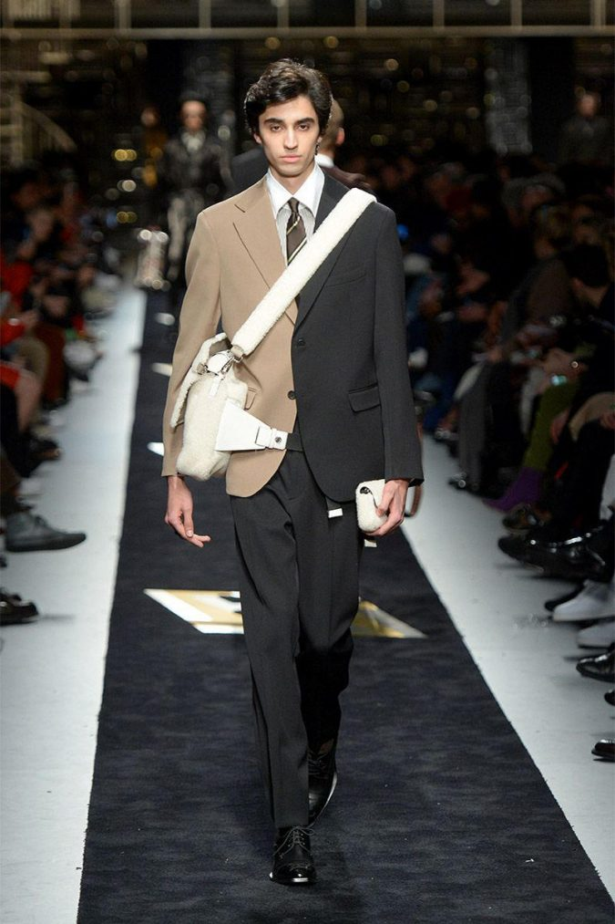 fall-winter-fashion-2020-half-and-half-suit-Fendi-675x1013 Top 10 Winter Predictions and Trends for 2019/2020